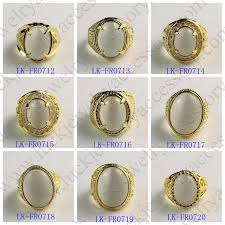 gold stone rings images Vogue jewelry manufacturer cheap custom fancy big stone gold ring jpg