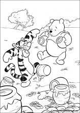 winnie pooh friendship piglet pig coloring pages print