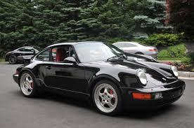porsche 911 964 turbo porsche 911 coupe 1994 black for sale wp0ac2966rs480092 1994