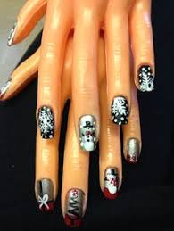 football nail art u0026 bengal nail designs nails designs