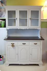 Kitchen Hutches Buffets White by Most Gorgeous Refinished Hutch Ever Fantastic Furniture
