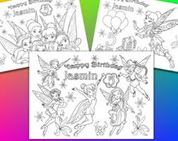 tinkerbell party favor printable tinkerbell party supplies