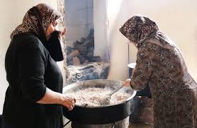 la cuisine des femmes a afrine des femmes se mobilisent pour nourrir les troupes kurdes