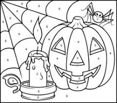 halloween candle coloring printables apps kids