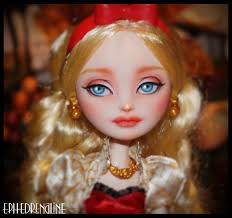 Ever After High Apple White Doll Ever After High Apple White Repaint By Ephedrenaline On Deviantart
