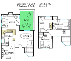 villas of sedona floor plan scottsdale camelback resort spring training condo vacation rentals
