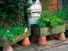 Diy Herb Garden Box by 8 Fresh And Fun Diy Outdoor Planter Ideas Hgtv U0027s Decorating