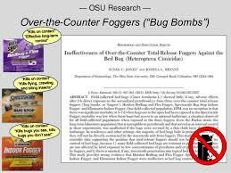 Bug Bombs For Bed Bugs Dealing W Bed Bugs
