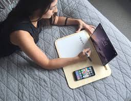 tab lapdesk for tablets and smartphones by iskelter gadget flow