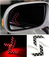 lexus indicator lights amazon com champled 2x 14 smd led arrow panel car side mirror