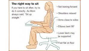 position assise bureau rester assis est dangereux pour la santé voici la bonne posture