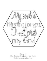 look to him and be radiant sweeter than honey coloring pages