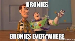 Bronies Meme - bronies bronies everywhere bronies bronies everywhere make a meme