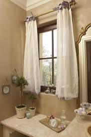 bathroom curtain ideas pinterest french provencal bathroom ribbon is used as a border at the hem
