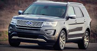 suv ford explorer ford explorer new look new technology for updated large suv