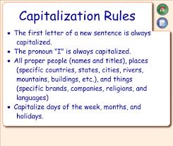 smart exchange usa capitalization u0026 punctuation party
