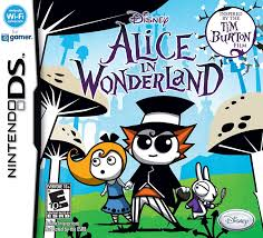 amazon com alice in wonderland nintendo ds video games