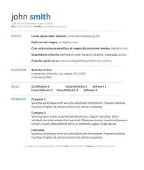 cover letter resume in word format resume in word format for an