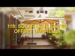 black friday home depot music lights home depot 11ft offset solar led umbrella assembly instructions