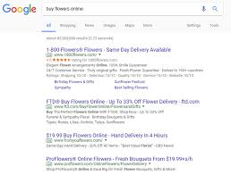 top 10 same day delivery what s a quality score for each type of keyword