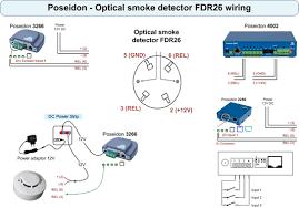 optical smoke detector fdr26