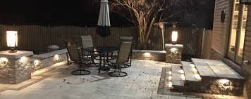 Led Landscape Lighting Led Landscape Lighting Nj Hardscape Lighting For Patios Pools
