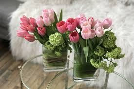 tulip arrangements easter decor starts with tulips how to create an ombre
