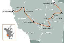 map of usa west coast 8 ideas for an american road trip travel nation