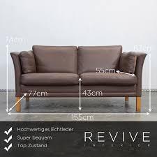 sofa leder braun echtleder sofa braun home image ideen