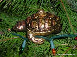 truffles turtles tunes turtle ornament from lauscha