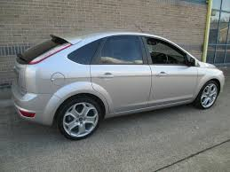 used ford focus tdci used 2008 ford focus hatchback silver edition 2 0 tdci titanium