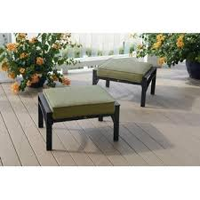 Lay Z Boy Patio Furniture La Z Boy Outdoor Karter 2 Pack Ottomans Limited Availability