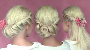romantic updo hairstyles for new year u0027s eve for medium long hair