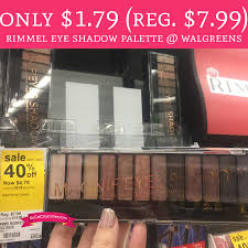 Walgreens Halloween Makeup by Only 1 79 Regular 7 99 Rimmel Eye Shadow Palette Walgreens