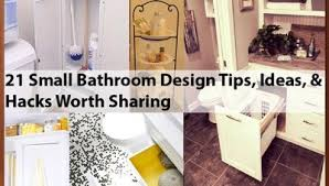 bathroom design tips and ideas 21 small bathroom design tips ideas hacks worth