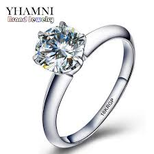 aliexpress buy anniversary 18k white gold filled 4 online get cheap gold carats aliexpress alibaba