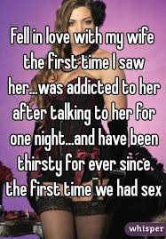 Love My Wife Meme - fell in love with my wife the first time i saw her was addicted