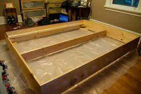 Build Your Own Platform Bed Frame Plans by Pretty Make Build Your Own Platform Bed Tribelle Co Kscott Info