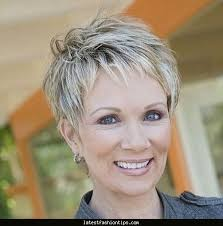 hair sules for thick gray hair great pixie haircut for women over 50 with short thick hair razor