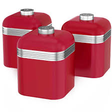 100 red kitchen canister kitchen storage food storage