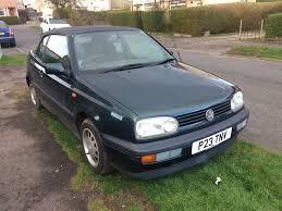 vw golf mk3 cabriolet 1997 mot u0027d august ideal starter car in