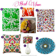 house dressing style heat wave mexican inspired home decor