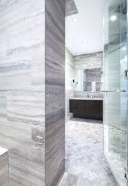 travertine walls the new master bath is resplendent in vein cut travertine walls and