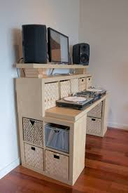 enclosed computer desk