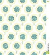 simple kids flower pattern doodle pastel seamless background