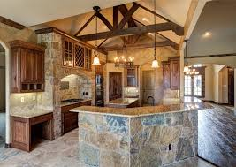 custom home designs bailee custom homes rustic kitchen dallas by q home designs