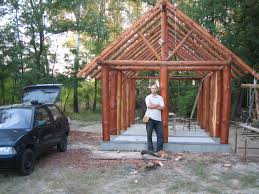 hungarian cordwood by tamas abel construction cabin and masonry