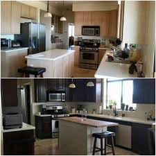 How To Stain Kitchen Cabinets by How To Use General Finishes Gel Stain To Touch Up Tired Cabinets