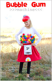 halloween costume ideas for teen girls 20 diy halloween costumes gumball machine costume gumball