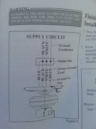 Ground Wire For Ceiling Fan by Electrical How Do I Wire This Ceiling Fan Home Improvement